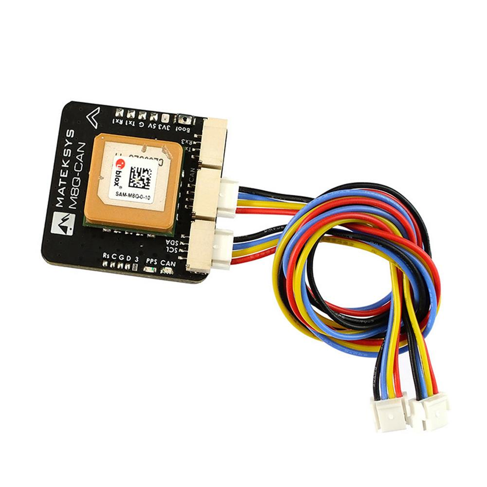multi-rotor-parts Matek Systems GPS M8Q-CAN UAVCAN GPS Module support COMPASS Galileo for RC Drone FPV Racing Multirotor HOB1744522