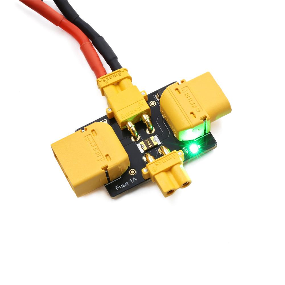 multi-rotor-parts GEPRC Smart Smoke Stopper 1~6S Electronic Fuse to Prevent Short-Circuit & Over-Current w/XT30&XT60 Plug for FPV Racing RC Drone HOB1744651