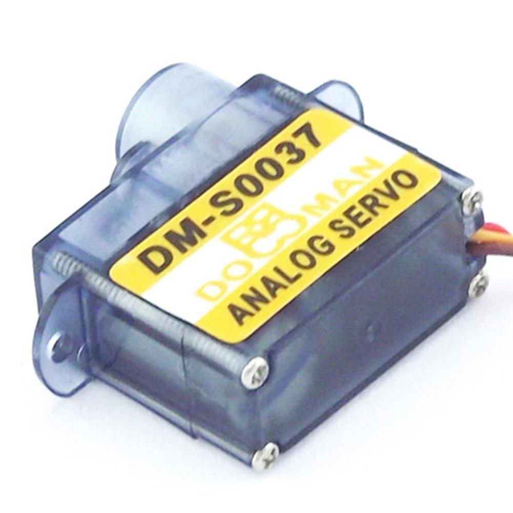 rc-airplane-parts DORCRCMAN DM-S0043 0.8kg Torque 4.8-6V 4.3g Plastic Gear Digital Micro Servo Compatible Futaba JR SANWA Hitec for RC Airplane HOB1745205 1
