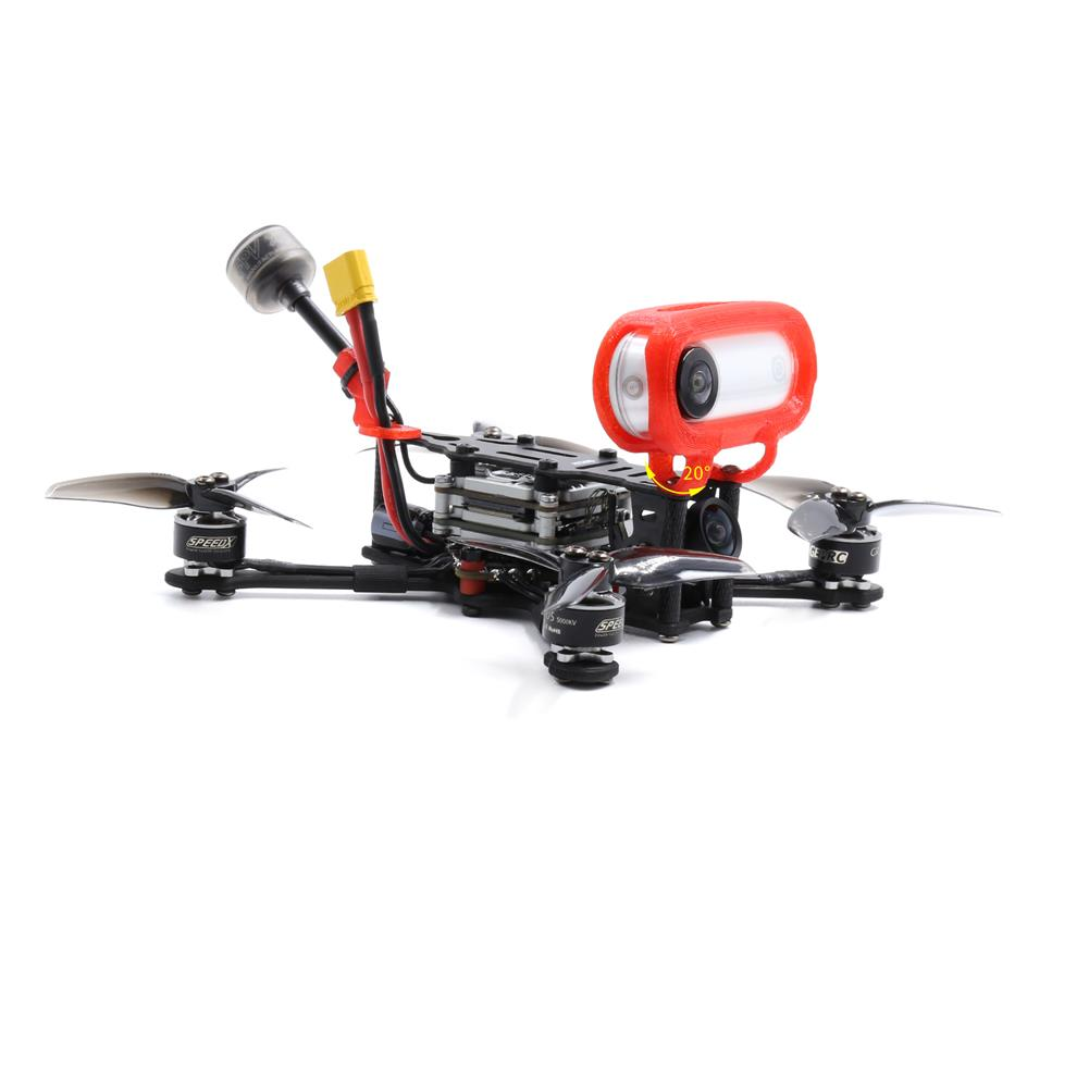 fpv-system 19.5mm GEPRC TPU Mount Framework for insta360 GO Action Camera to GEPRC PT/PTHD Quadcopter FPV Racing RC Drone HOB1745857 1