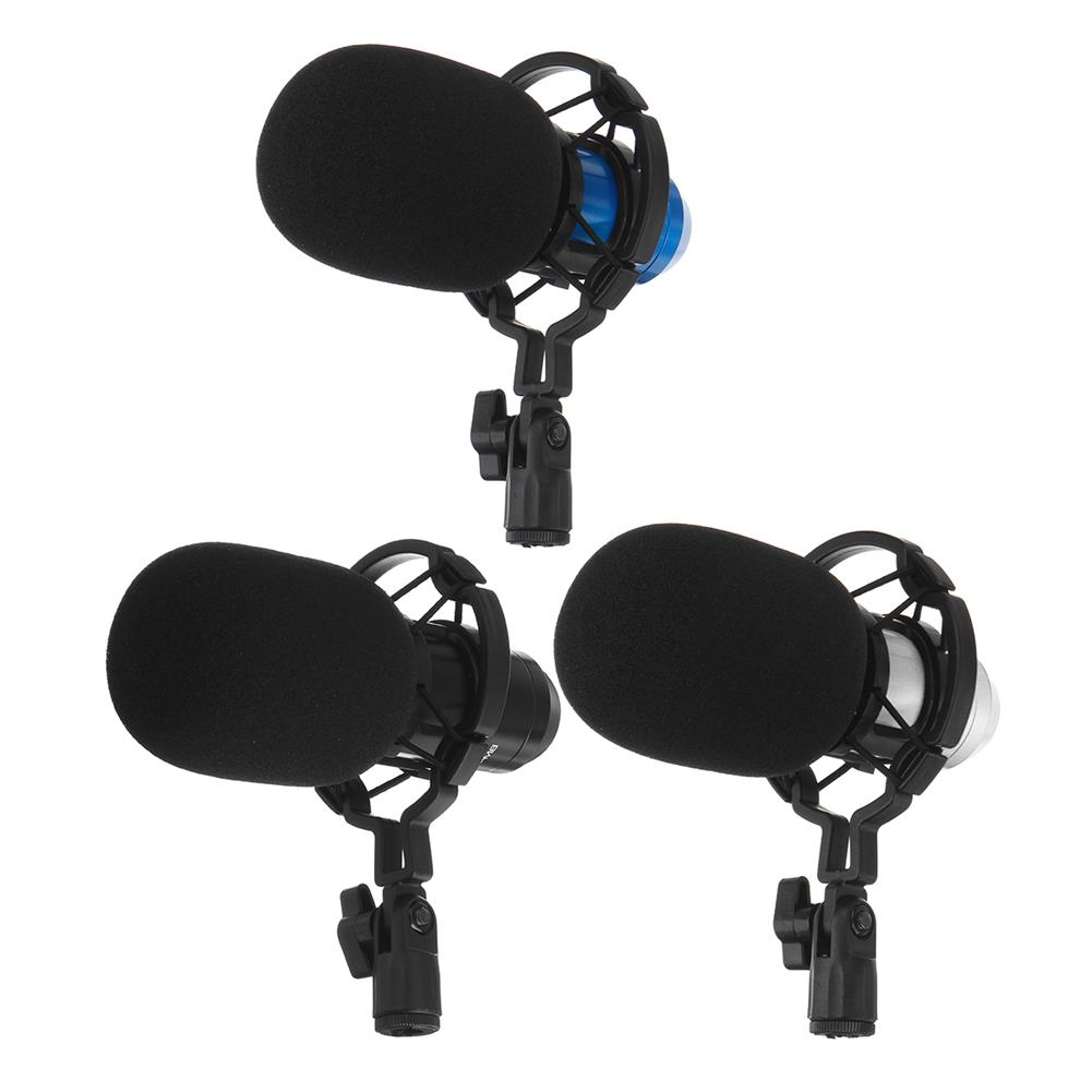 microphones-karaoke-equipment Bakeey Basic Condenser Microphone BM-800 Cardioid Studio Recording Microphone with Shock Mount XLR Cable HOB1746704 1