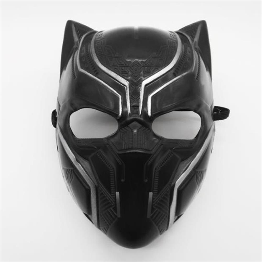 mask-costumes Black Panther/Hulk/Batman PVC Plastic Mask Halloween Performance Props for Children Toys HOB1747158