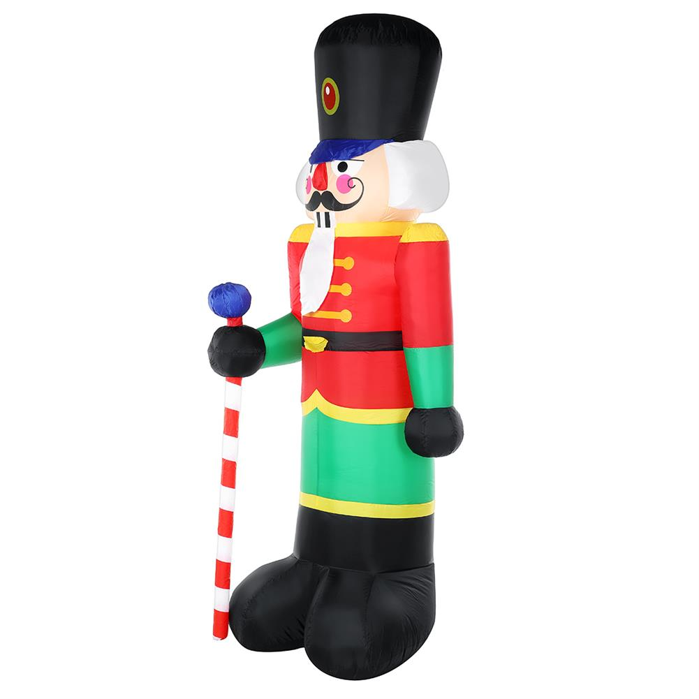 inflatable-toys 2.4m inflatable Christmas Soldier Man Air Blown Light Up Outdoor Yard Decor HOB1747579 1