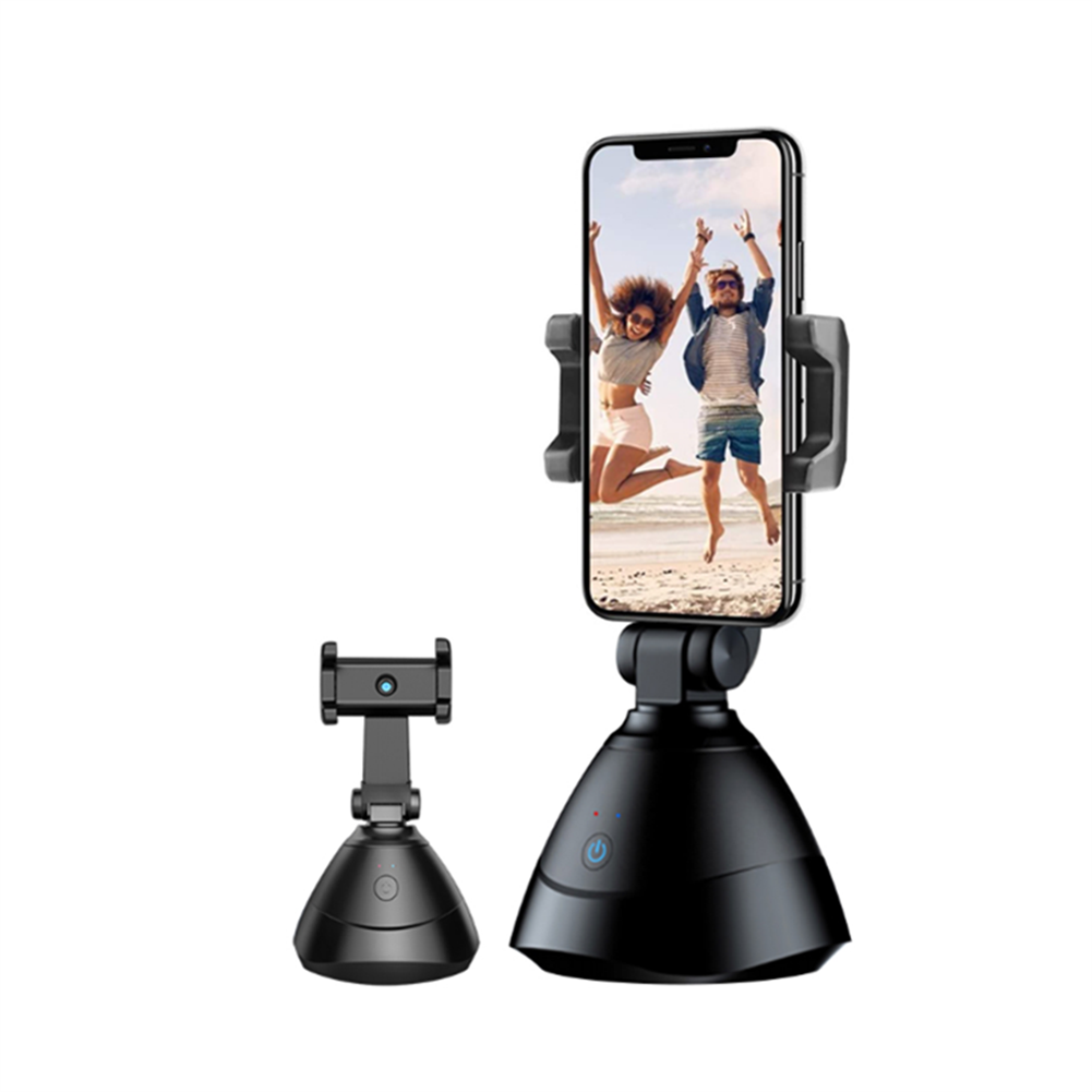 fpv-system 360 Face Tracking Gimbal Auto Smart AI Holder Live Broadcast for Vlog Video Recor Selfie Shooting Smartphone Selfie HOB1749049