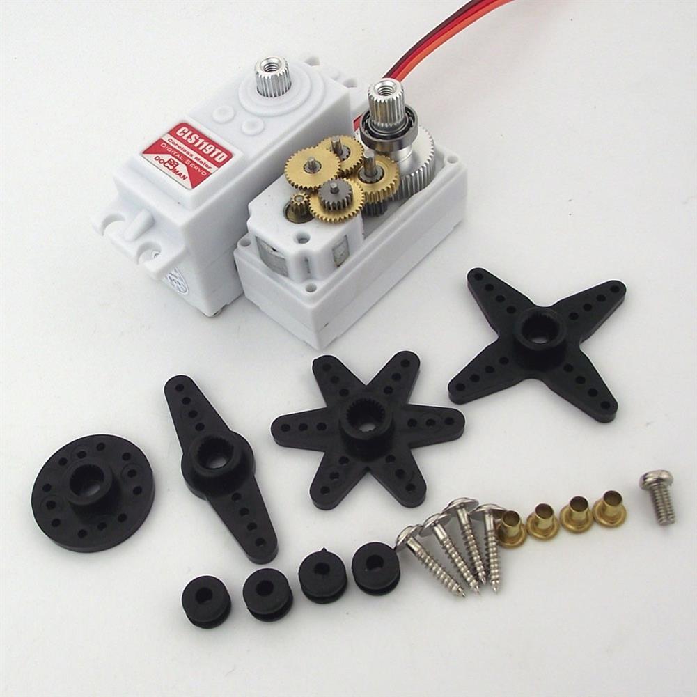 rc-airplane-parts DORCRCMAN DM-CLS119TD 9KG Coreless Digital Servo Metal Gear for RC Airplane Parts HOB1750669