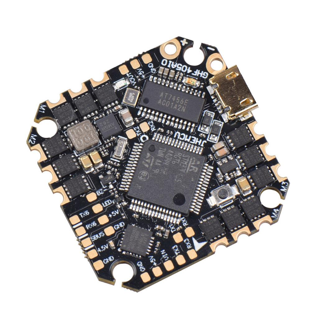 multi-rotor-parts 25.5x25.5mm JHEMCU GHF405AIO F4 OSD Flight Controller w/ 5V BEC Current Sensor Built-in 25A BLheli_S 3-6S Brushless ESC for Flyegg Toothick RC Drone FPV Racing HOB1751125