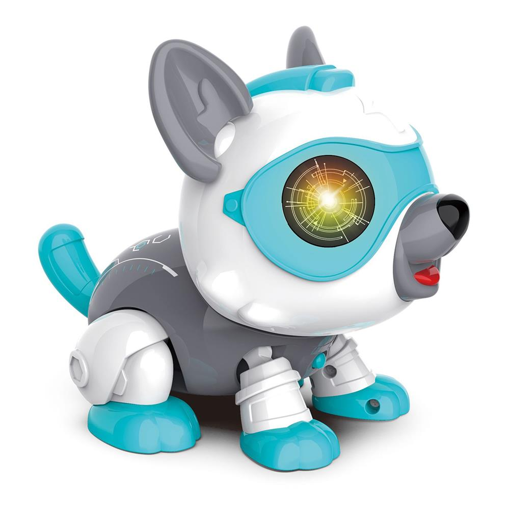 dolls-action-figure DIY Assembly Sound Control Touch Sensing Robot Dog Toy with Light Sound Effect Dog Toddler Toys for Kids Gift HOB1751559