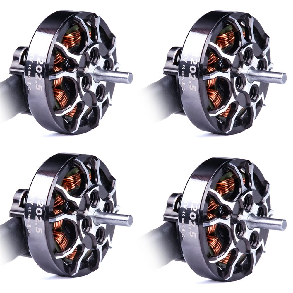 multi-rotor-parts 4 PCS Flywoo ROBO RB 1202.5 5500KV 2-4S / 11500KV 1-3S Brushless Motor 1.5mm Shaft for 2-3 inch RC Drone FPV Racing HOB1751685