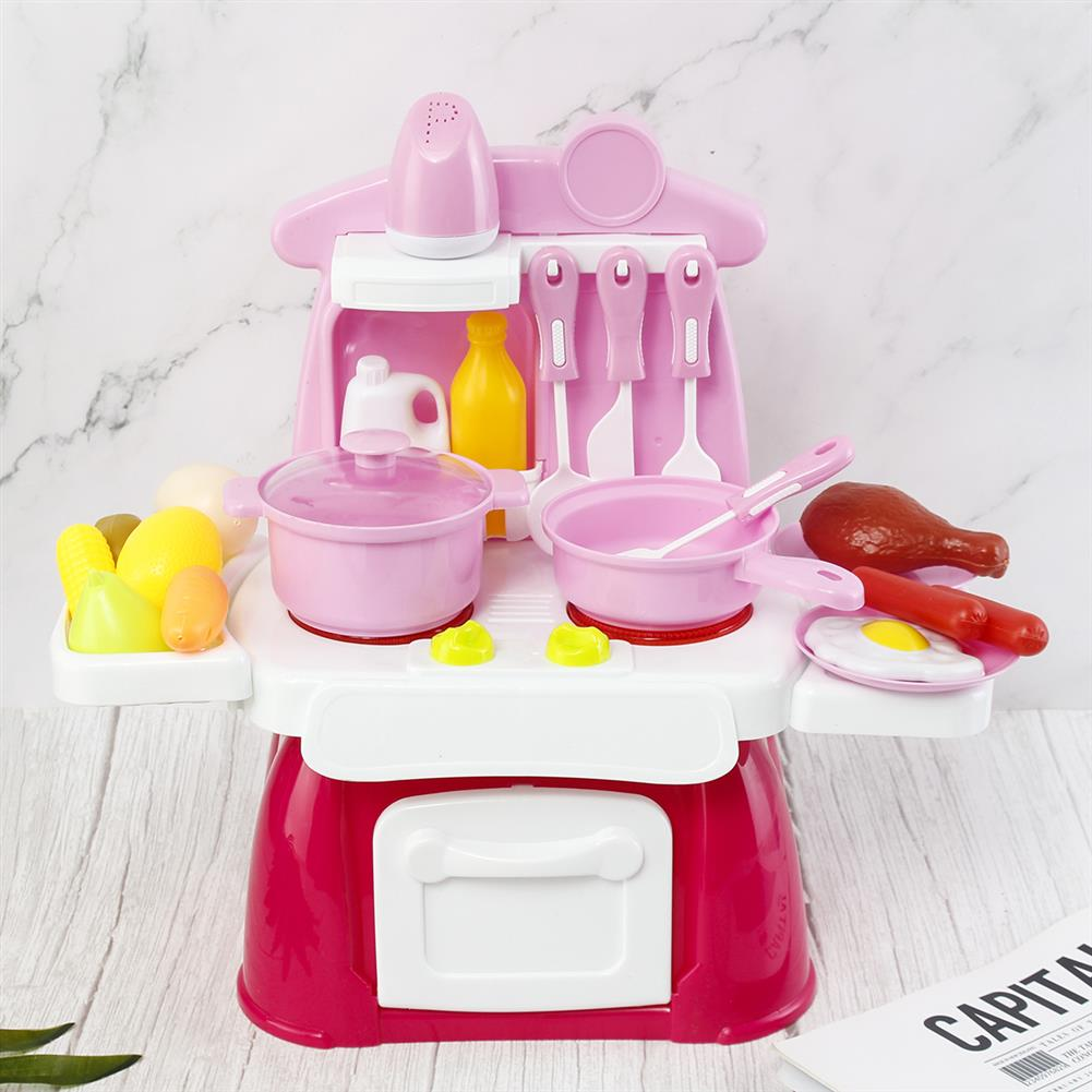 puzzle-game-toys Baby Puzzle Play House Light Music Tableware Table Toy Baby Cooking Kitchen Toy HOB1752063 1