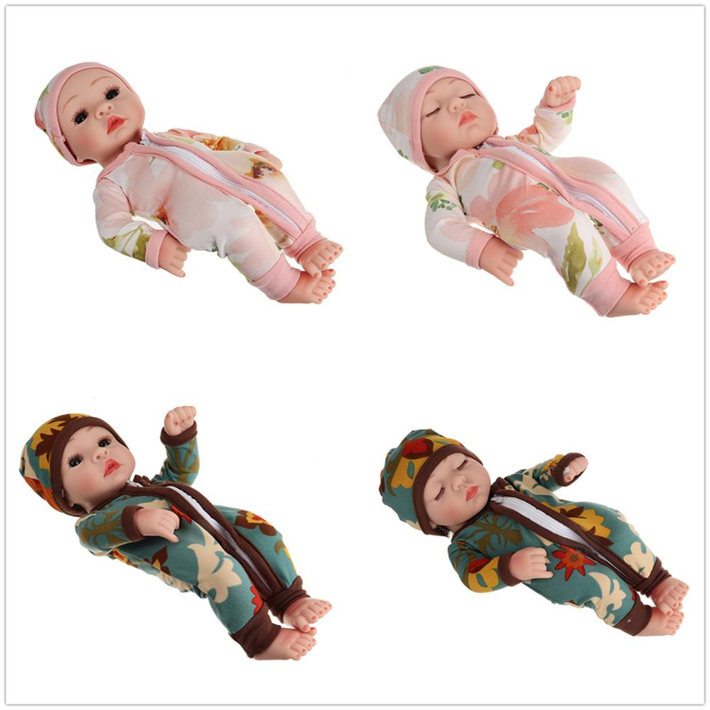 dolls-action-figure 10 inch 25CM Silicone Vinyl Soft Flexible Lifelike Reborn Baby Doll with Clothes Toy for Kids Collection Gift HOB1752239 1