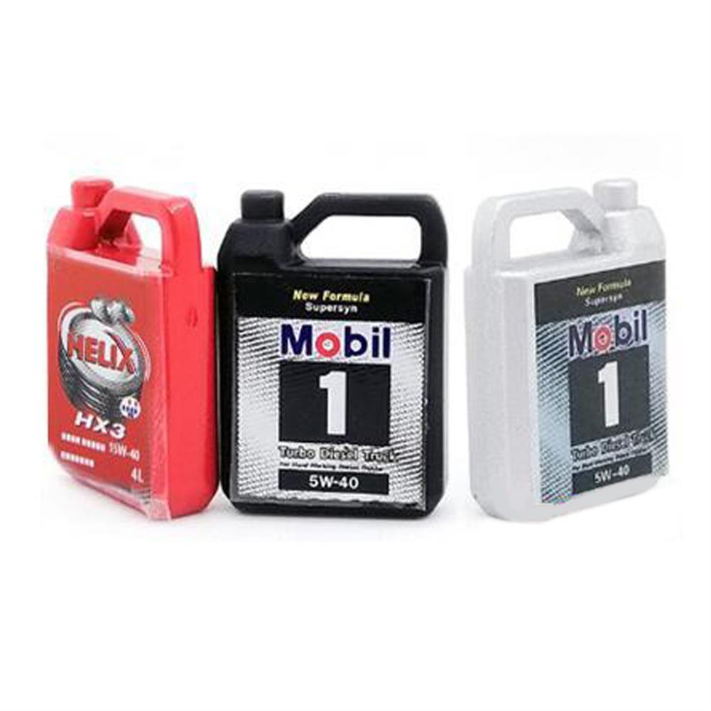 rc-car-parts 1 PC Metal Decoration Simulate Oil Box for 1/8 1/10 TRX4 RC Car Parts HOB1752920