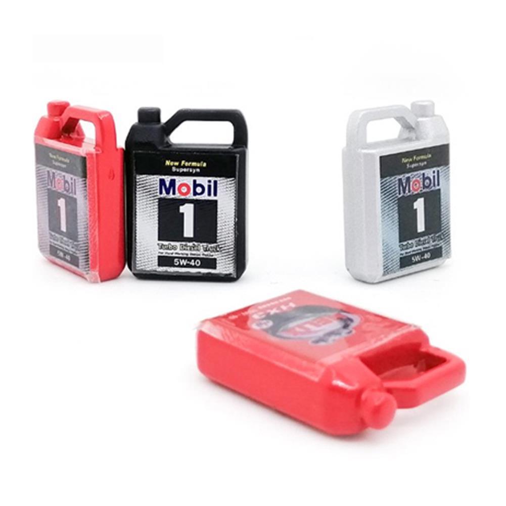 rc-car-parts 1 PC Metal Decoration Simulate Oil Box for 1/8 1/10 TRX4 RC Car Parts HOB1752920 1