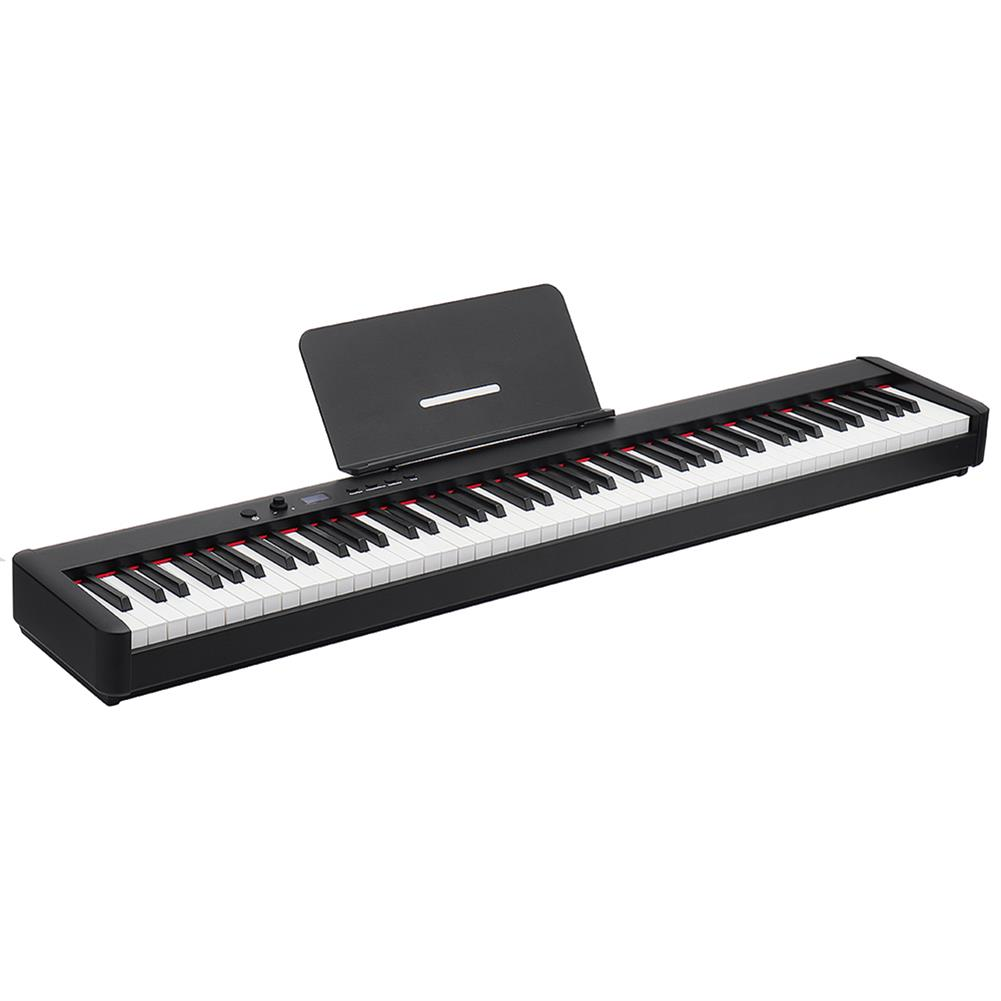 electronic-keyboards BORA BX5 88 Keys Smart Portable Digital Electronic Piano Heavy Hammer Action Keyboard with HIFI independent Sound MIDI/USB Connected HOB1753092 1