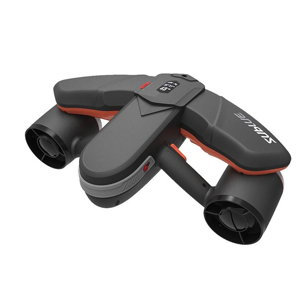 underwater-drone-scooter Sublue Seabow Smart Underwater Scooter Drone with Action Camera Mount OLED Display Waterproof 40m Water Sports Swimming Diving Snorkeling Thruster HOB1754645