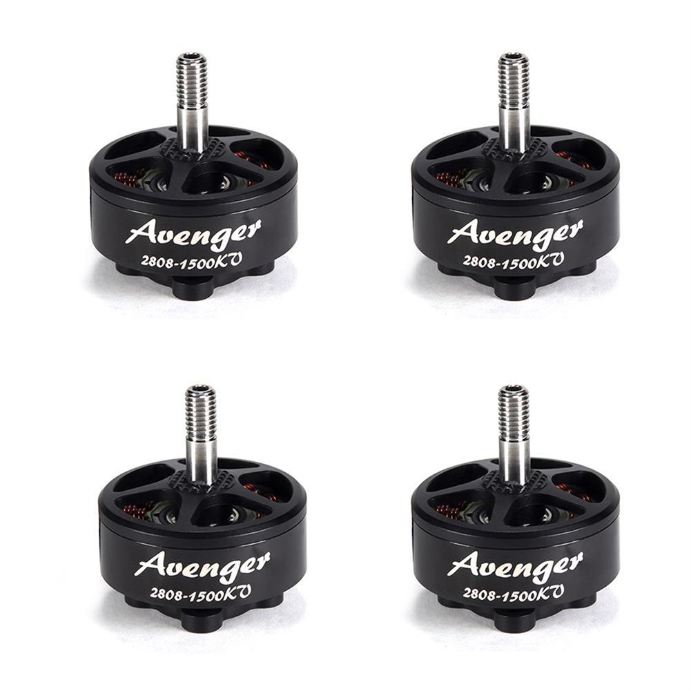 multi-rotor-parts 4X BrotherHobby Avenger 2808 1500KV 4-6S Brushless Motor CW Thread for RC FPV Racing Drone HOB1755569