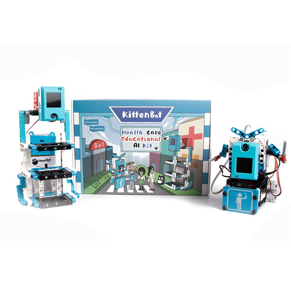 robot-toys KittenBot Artificial intelligence Health Care Educational 9-in-1 AI Kit HOB1756221