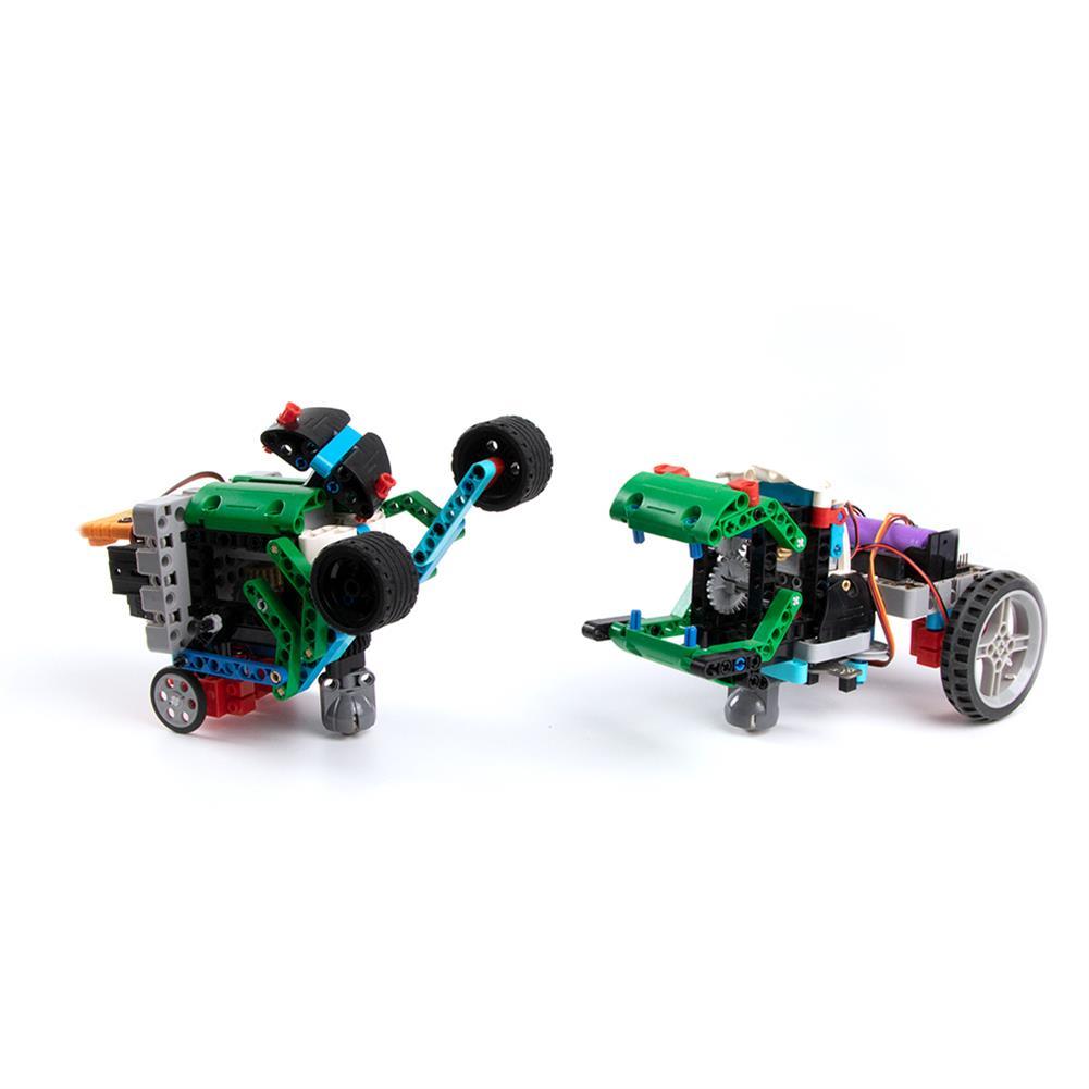 smart-robot KittenBot 12 in 1 Programmable Building Blocks Smart Competitive Robot Car Set for Kids HOB1756233 1