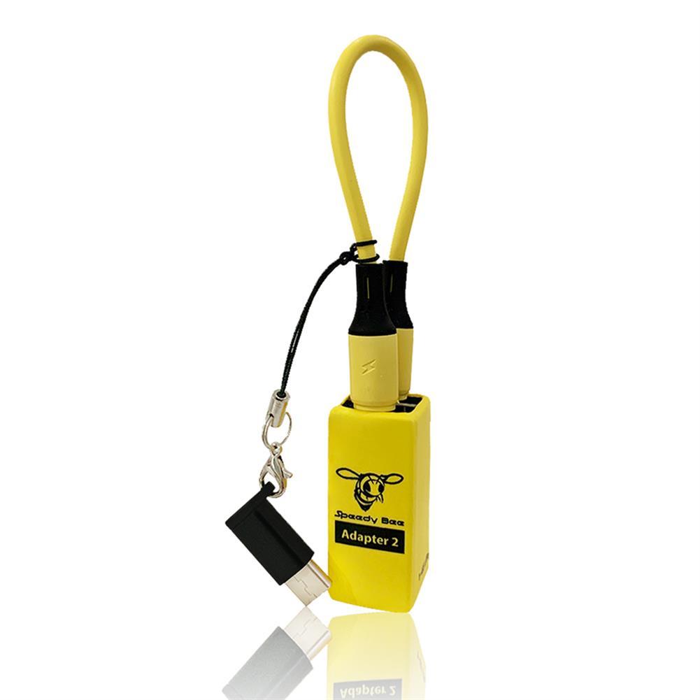 multi-rotor-parts Runcam Speedy Bee Adapter 2 Micro USB Adapter 1-6S & 120mA 1-6S Micro USB to USBC Converter HOB1756803