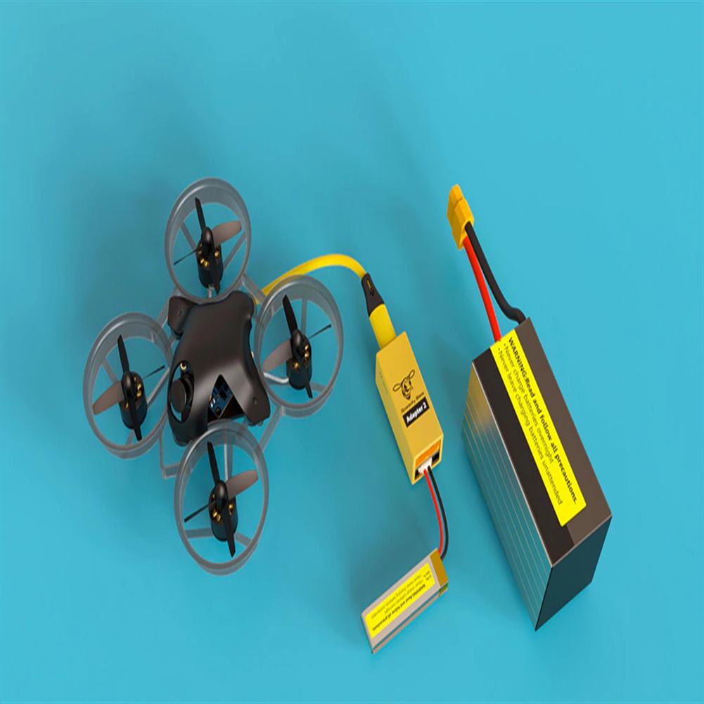 multi-rotor-parts Runcam Speedy Bee Adapter 2 Micro USB Adapter 1-6S & 120mA 1-6S Micro USB to USBC Converter HOB1756803 3