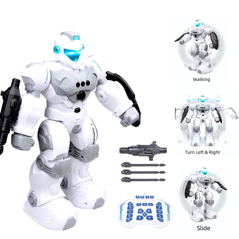 robot-toys FENGTAI intelligent Police Robot Programmable Gesture Sensing Storytelling USB Charging RC Robot HOB1757180