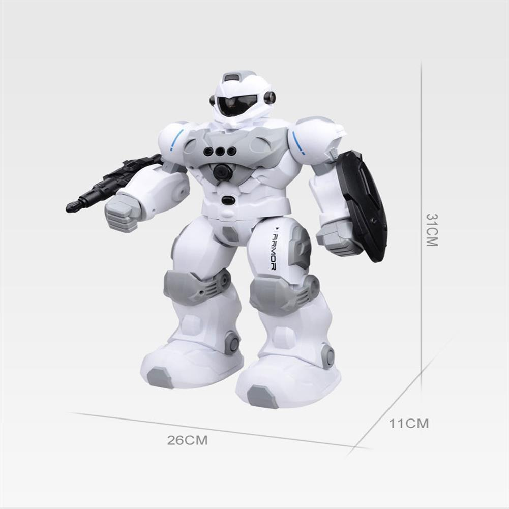 robot-toys FENGTAI intelligent Police Robot Programmable Gesture Sensing Storytelling USB Charging RC Robot HOB1757180 2