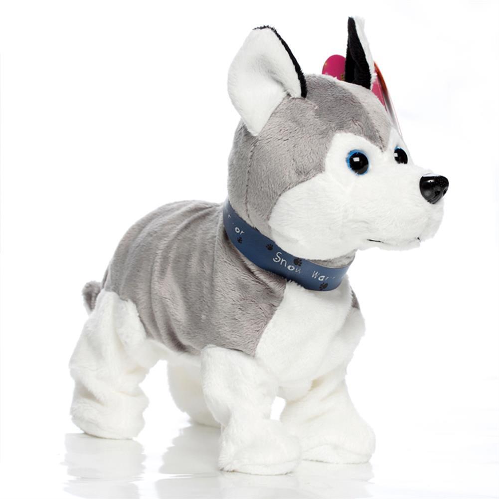 stuffed-plush-toys Husky Smart Voice Control Dog Children's Electric Plush Toys HOB1757313