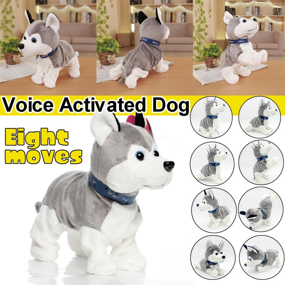 stuffed-plush-toys Husky Smart Voice Control Dog Children's Electric Plush Toys HOB1757313 1