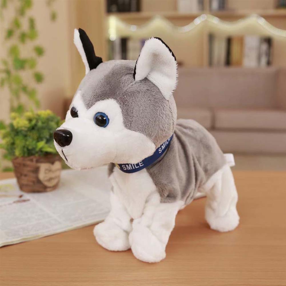 stuffed-plush-toys Husky Smart Voice Control Dog Children's Electric Plush Toys HOB1757313 2