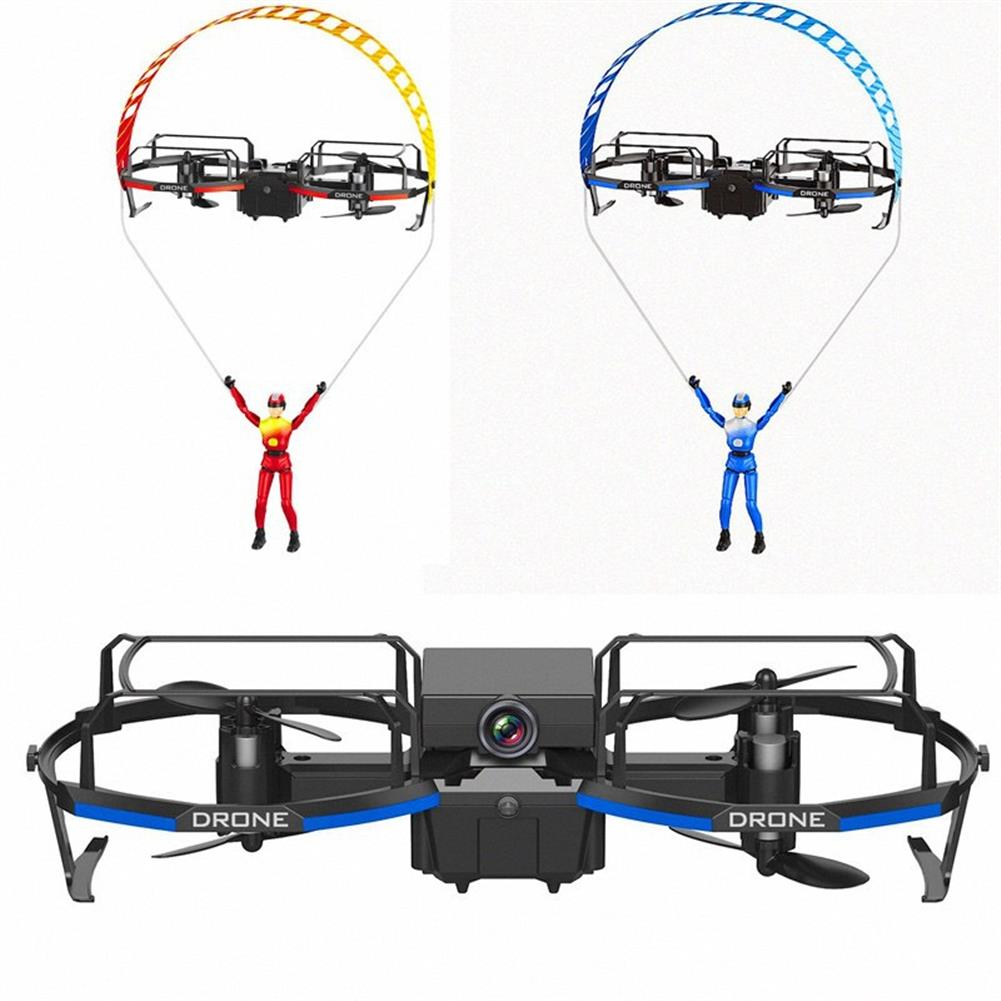 rc-quadcopters 2.4GHZ WIFI with HD Camera 2 in 1 RC Stunt Paraglider Flight Mode Altitude Hold Mode Mini Quadcopter Drone RTF HOB1759233