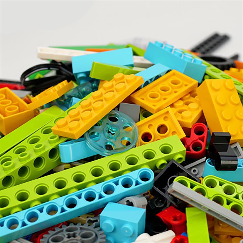 robot-toys RobotMake Tudao Creative Variety Children's Puzzle Building Blocks intelligent Robot Assembling Machinery Master Building Block Toys HOB1760293 1