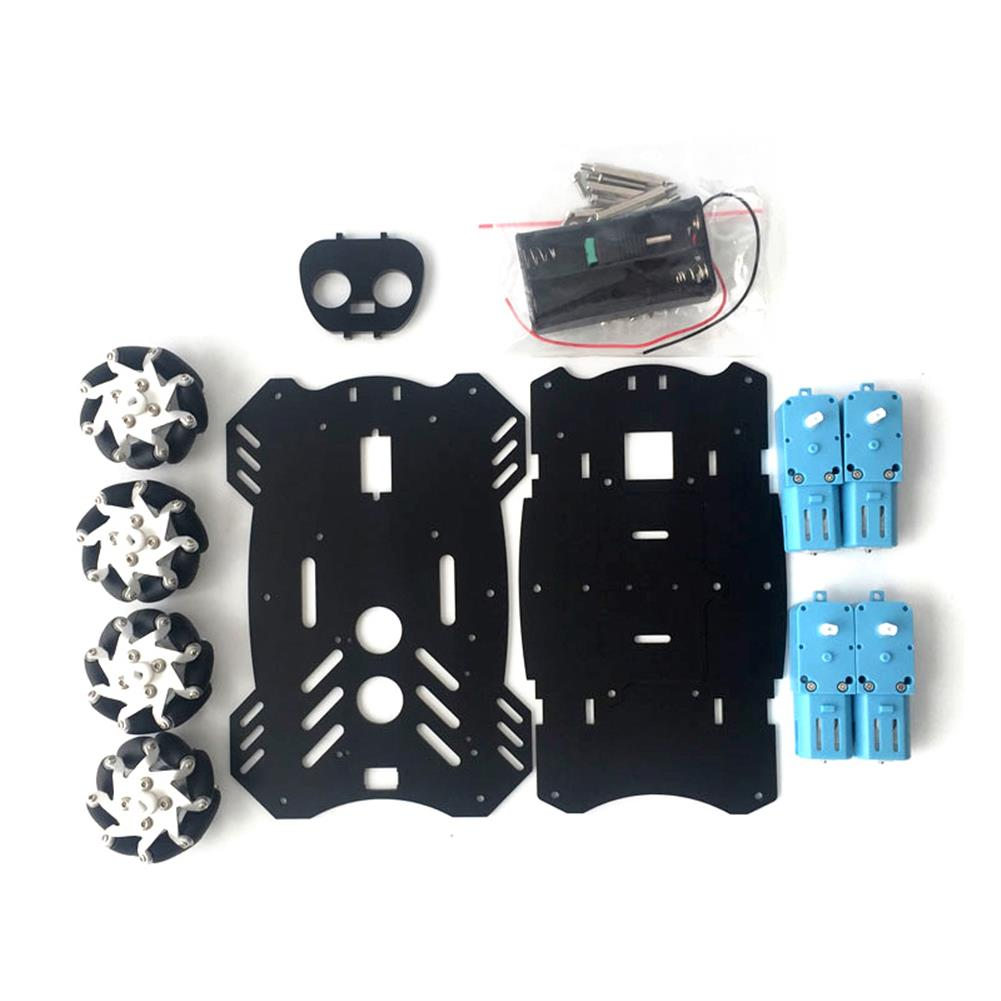 robot-arm-tank 4WD Smart Car Chassis Kit with Motor Driver UNO Development Board and PS2 Wireless Controller HOB1760313 3
