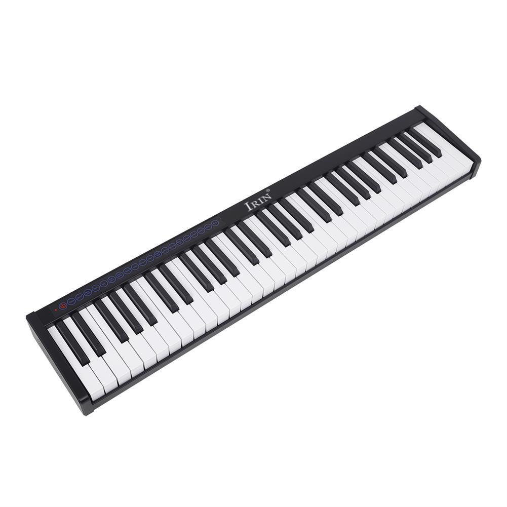 electronic-keyboards IRIN PI-61 61Keys Smart Portable Piano Velocitys Sensitive Keyboard Full Size Ultra-thin Electronic Piano HOB1760698 1
