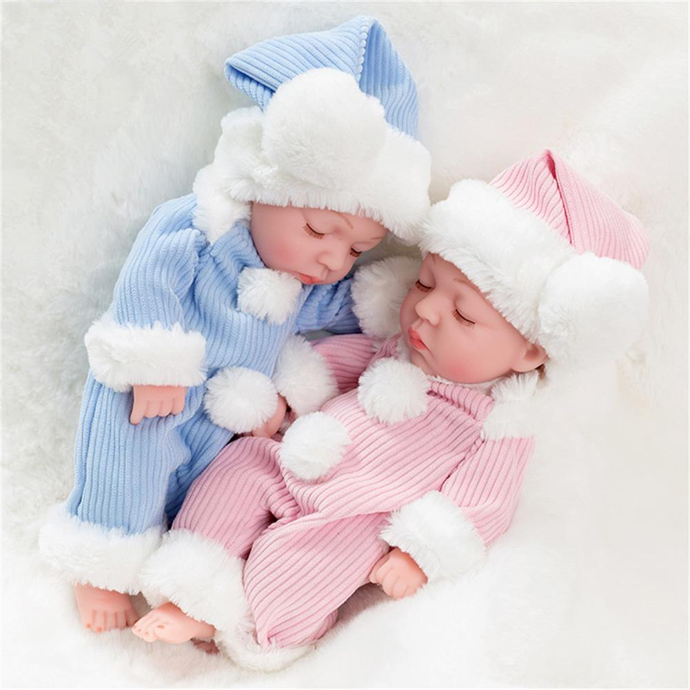 dolls-action-figure 10 inch Doll Reborn Doll Reborn Baby Soothing Wet Water Toy HOB1760950