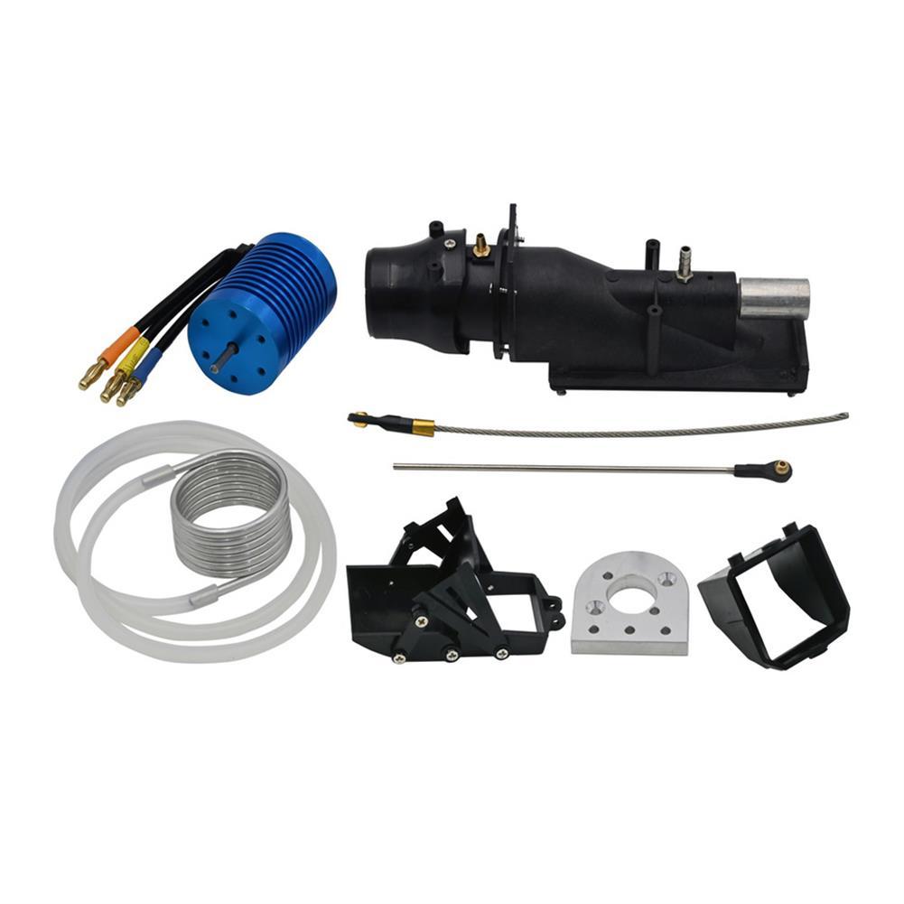 rc-boat-parts 1PC Water Spray Pump Jet Propellant Turbine Engine Pusher Servo W/ 4370KV Brushless Motor for DIY Jet/Fishing RC Boat Parts HOB1761352