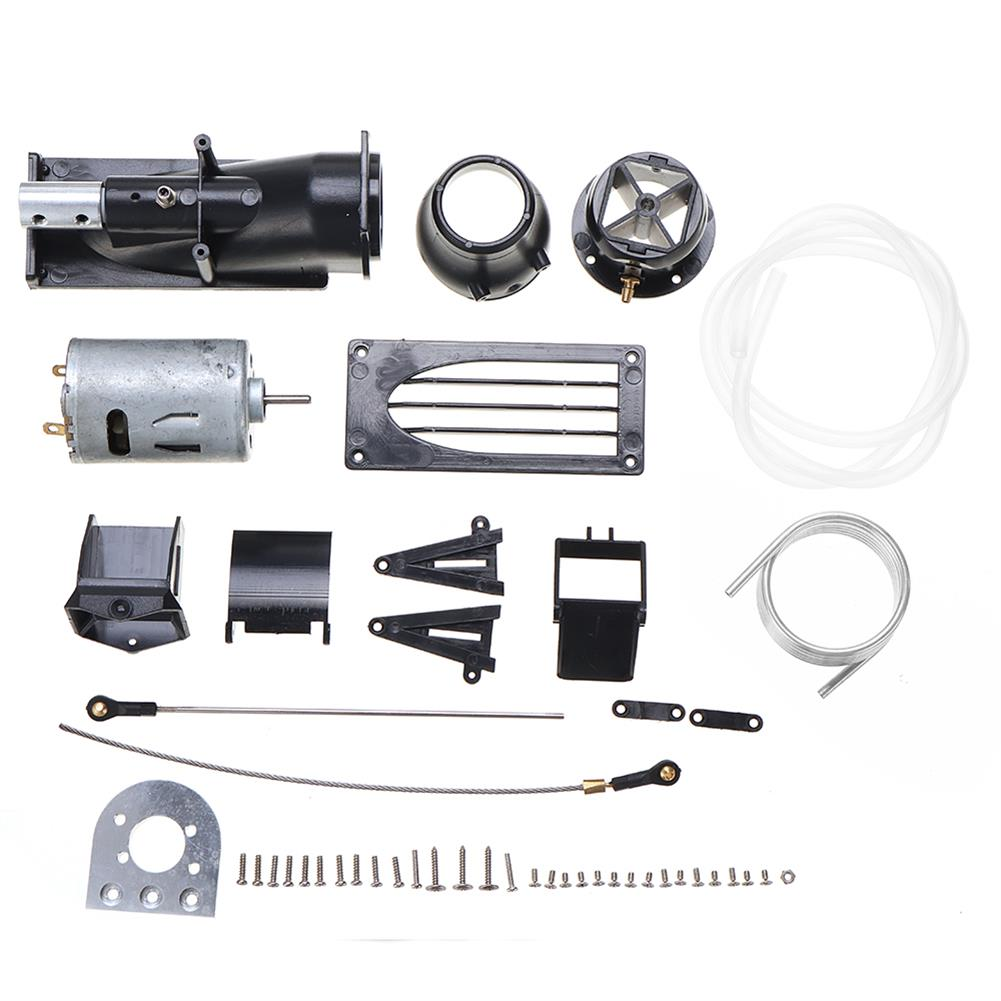 rc-boat-parts 1pc Water Spray Pump Jet Propellant Turbine Engine Pusher Servo W/ 540 Motor for DIY Jet/Fishing RC Boat Parts HOB1761364 1