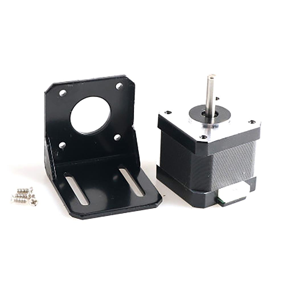 robot-parts-tools 42 Stepper Motor with Motor Fixing Bracket Kit for Smart Robot Car Chassis HOB1763030