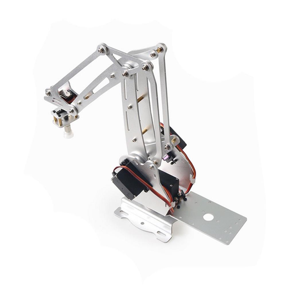 robot-arm-tank 3 DOF Palletizing Robotic Arm 3-Axis Robot DIY 3D Printer with 180 MG996R Servo for Robotic Education HOB1763407 3