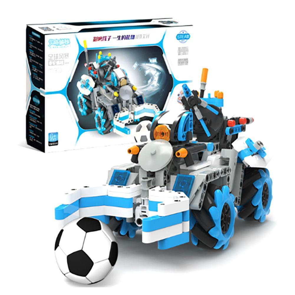 robot-toys 489PCS MoFun M30 Block Building Programmable APP/Stick Control Smart RC Robot Car HOB1763415