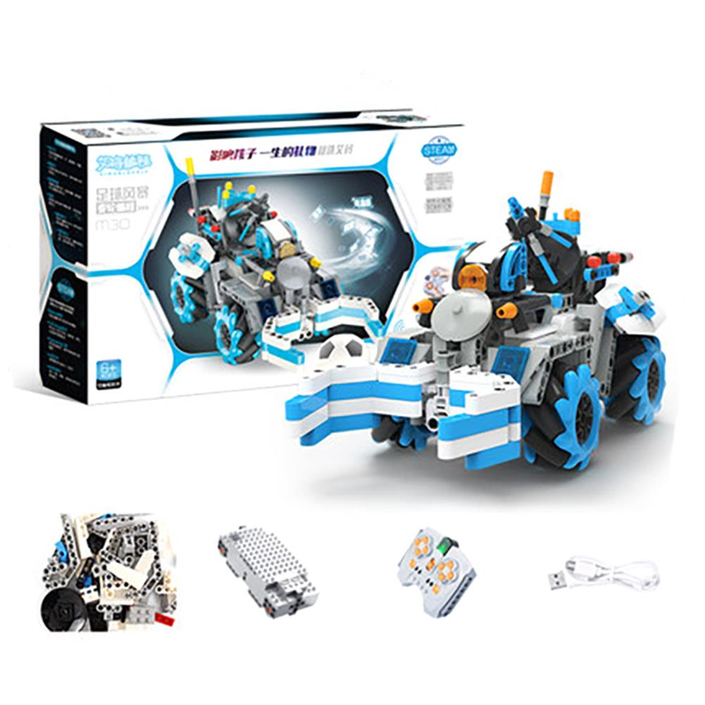 robot-toys 489PCS MoFun M30 Block Building Programmable APP/Stick Control Smart RC Robot Car HOB1763415 1