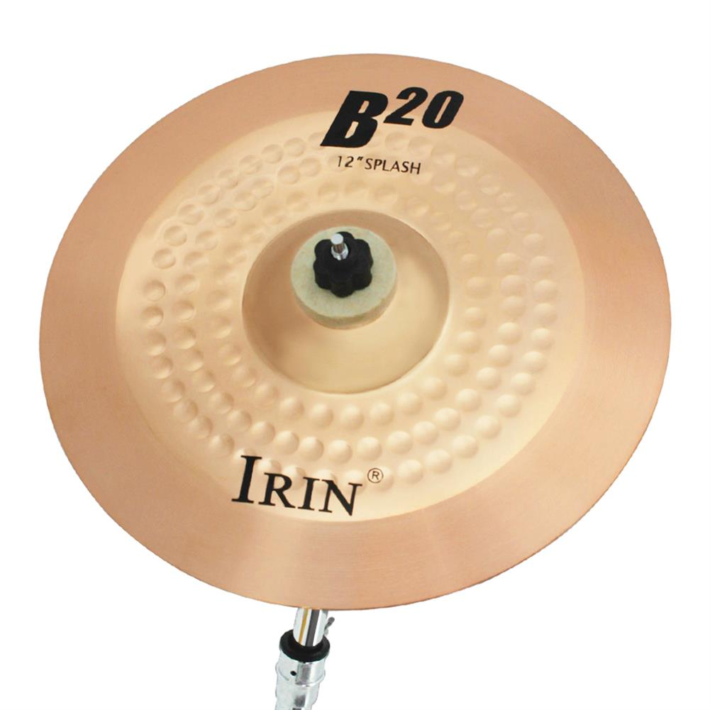 percussion-accessories IRIN B20 Jazz Drum Hitting Cymbal 8/10/12/14/16/18/20 inches HOB1763742 3