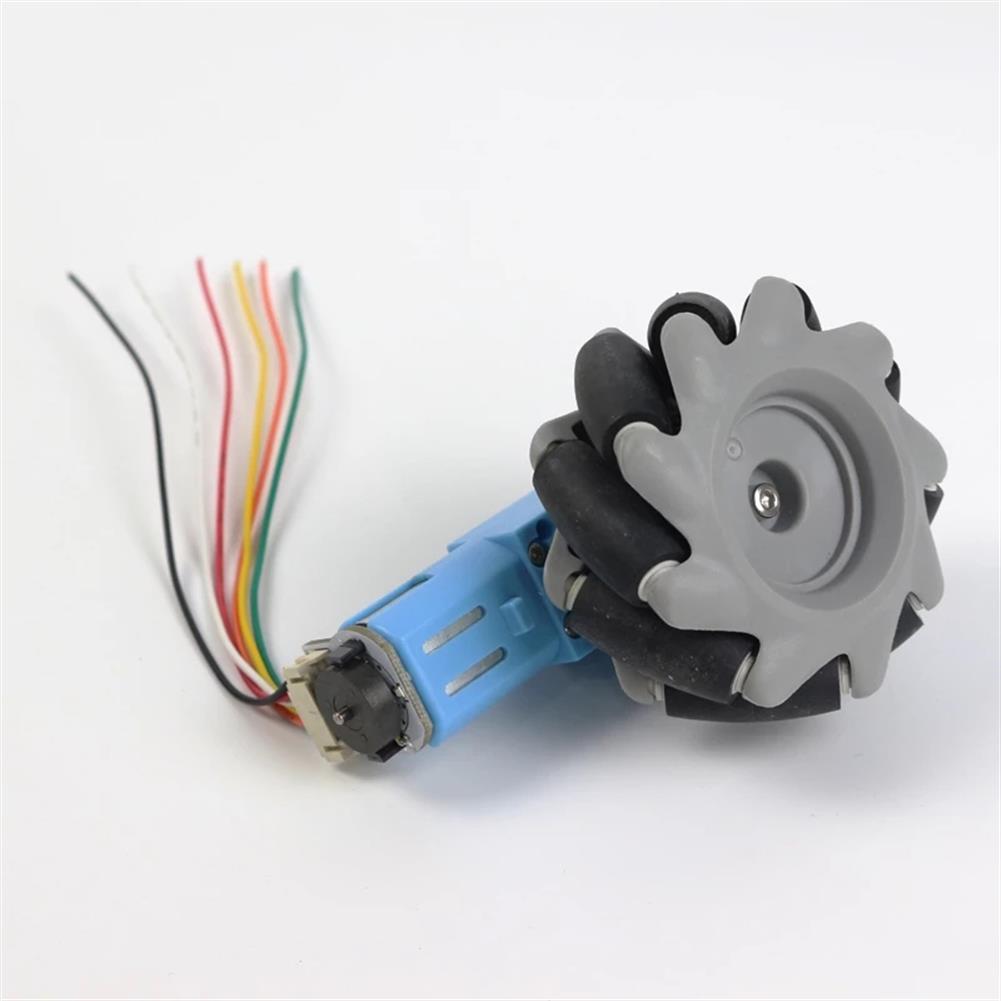 robot-parts-tools TT DC Gear Reduced Motor with Encoder for Smart Car Mecanum Wheel HOB1764171 2
