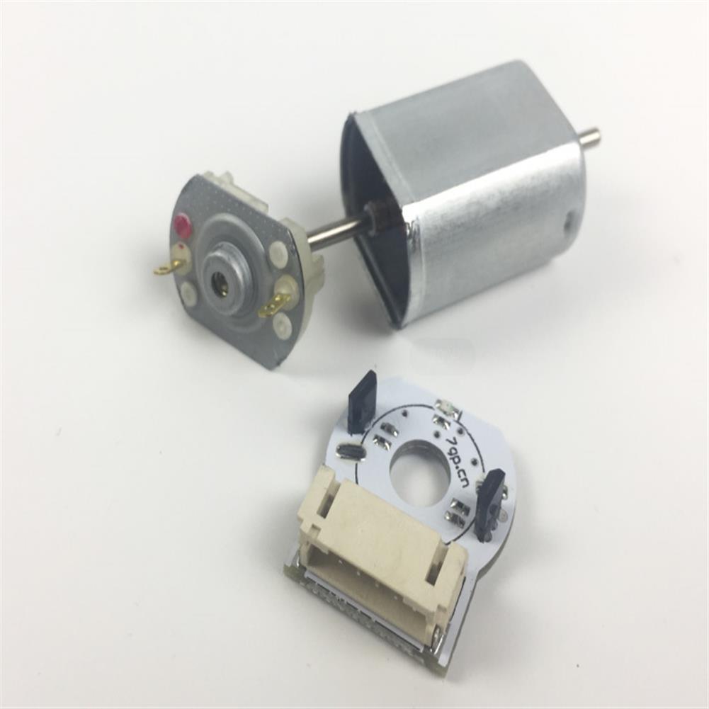 robot-parts-tools TT DC Gear Reduced Motor with Encoder for Smart Car Mecanum Wheel HOB1764171 3
