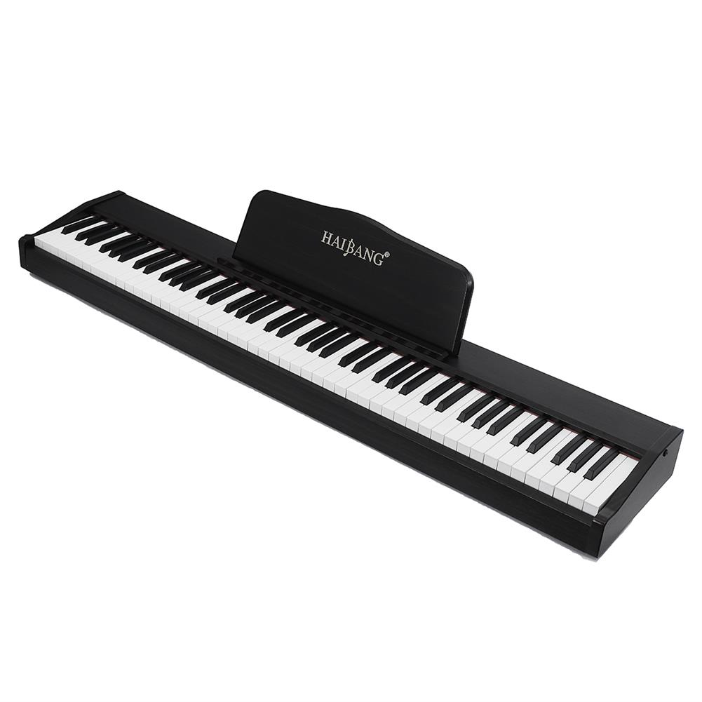 electronic-keyboards HAIBANG DL-100 88-key Heavy Hammer Keyboard 128 Polyphonic Electric Piano with Headphones HOB1765157 1