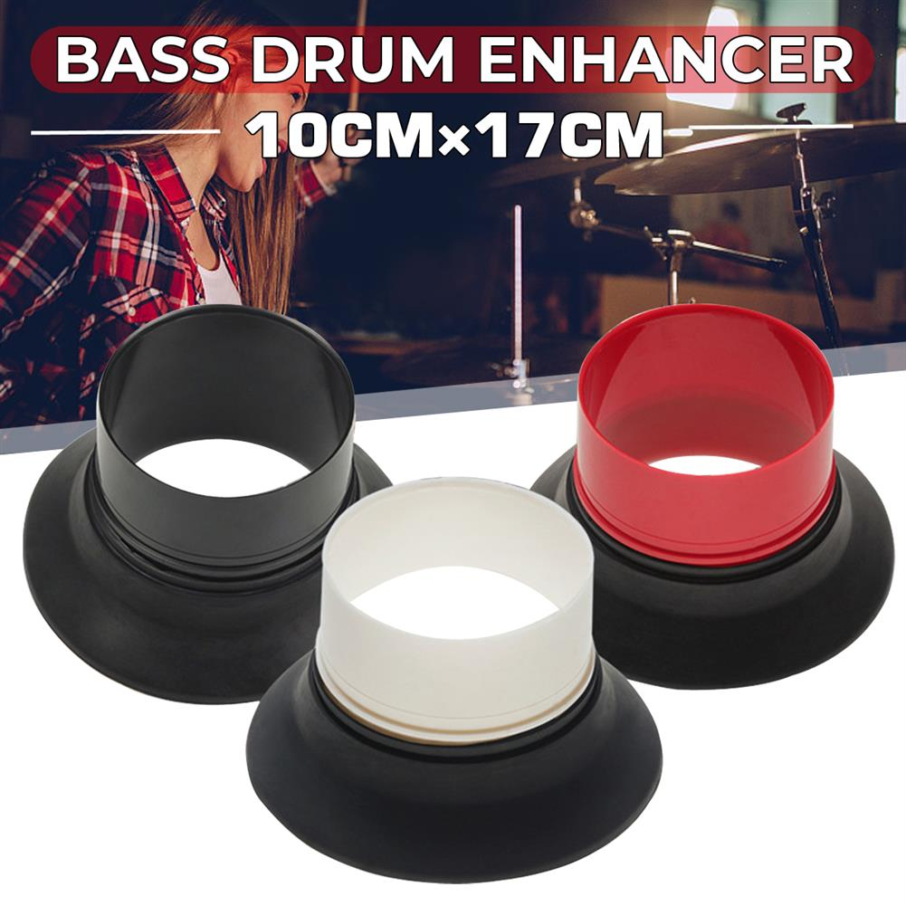 percussion-accessories Bass Drum Enhancer with Bass Drum Port Hole Protector for Drum Kit Set Percussion instrument Parts HOB1766247