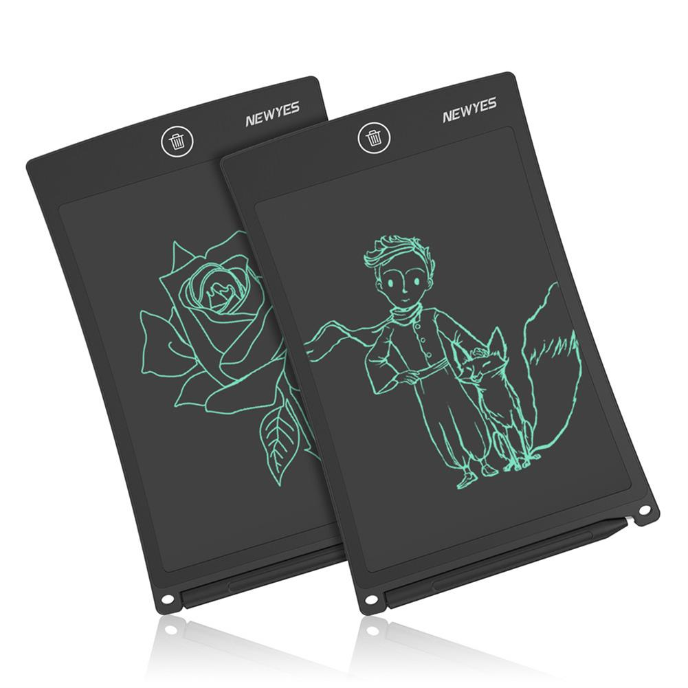 paper-art-drawing NEWYES 8.5-inch Writing Board Monochrome Screen B085N Writing Tablet Drawing Handwriting Pad Message Board Kids Writing Board Educational Toys HOB1766457