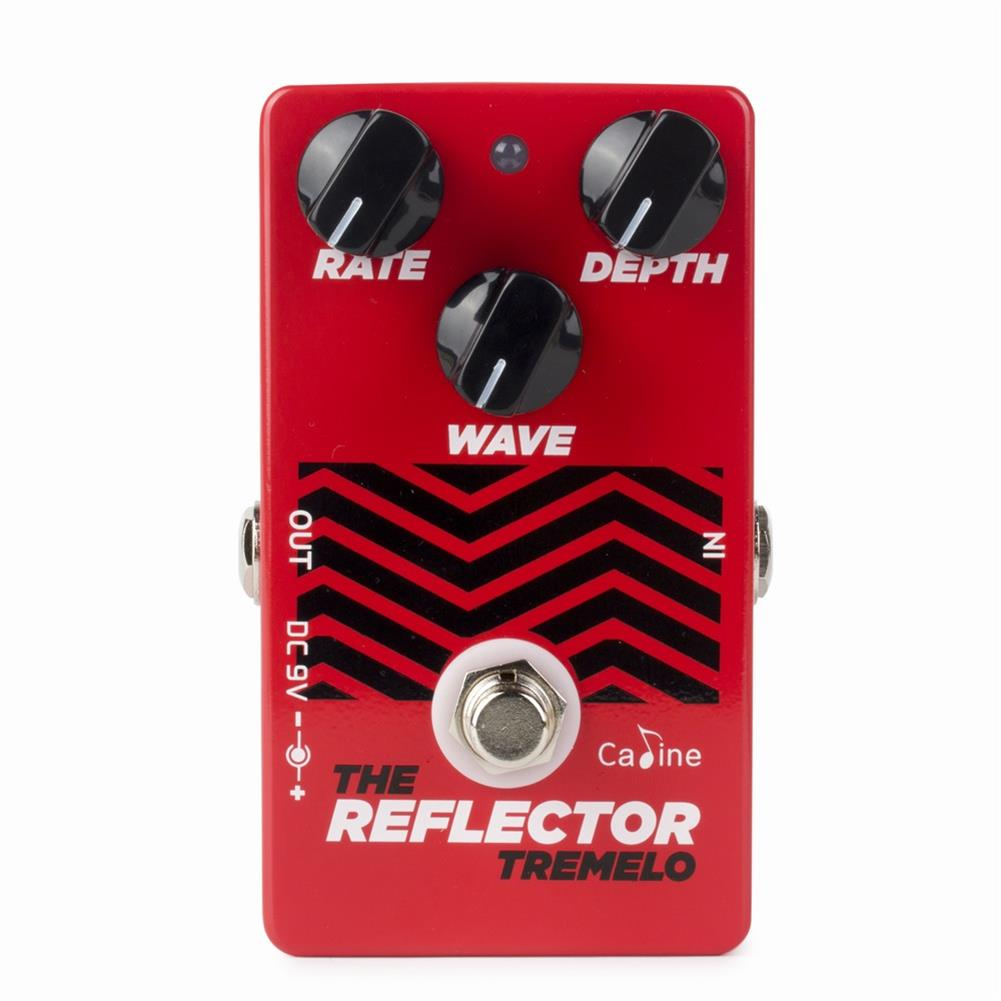 guitar-accessories Caline CP-62 Guitar Pedals Tremolo Reflector Effects Distortions Vintage Tube Amplifier True Bypass HOB1766494