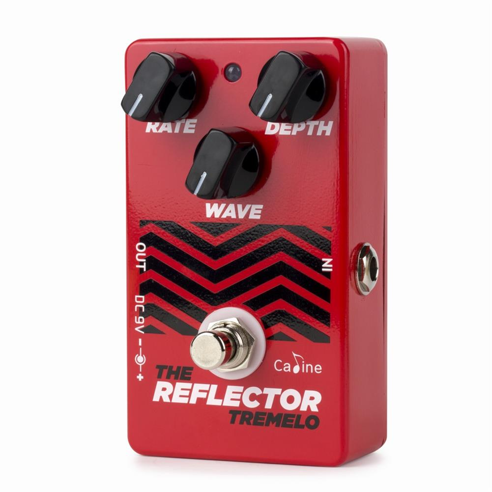 guitar-accessories Caline CP-62 Guitar Pedals Tremolo Reflector Effects Distortions Vintage Tube Amplifier True Bypass HOB1766494 1
