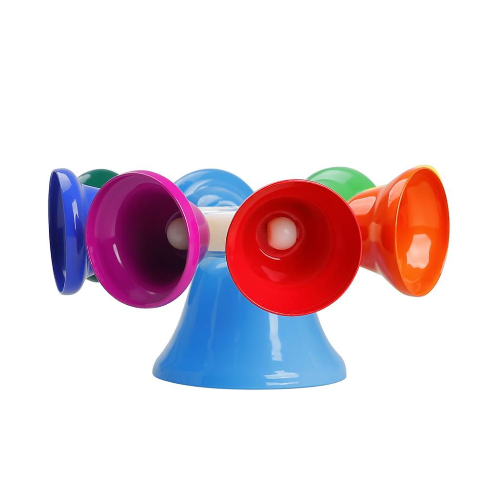 orff-instruments SY-66 Orff instrument 8 Tone Rotating Bell Melody Bell Touch Bell Musical instrument with Knocking Stick HOB1768147 1