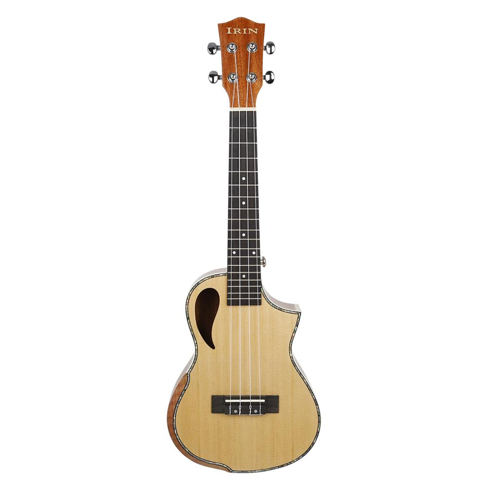 ukulele IRIN UK2390 23 inch Spruce Panel Cutout Arm Guard Ukulele with Ukulele Bag HOB1768151 2