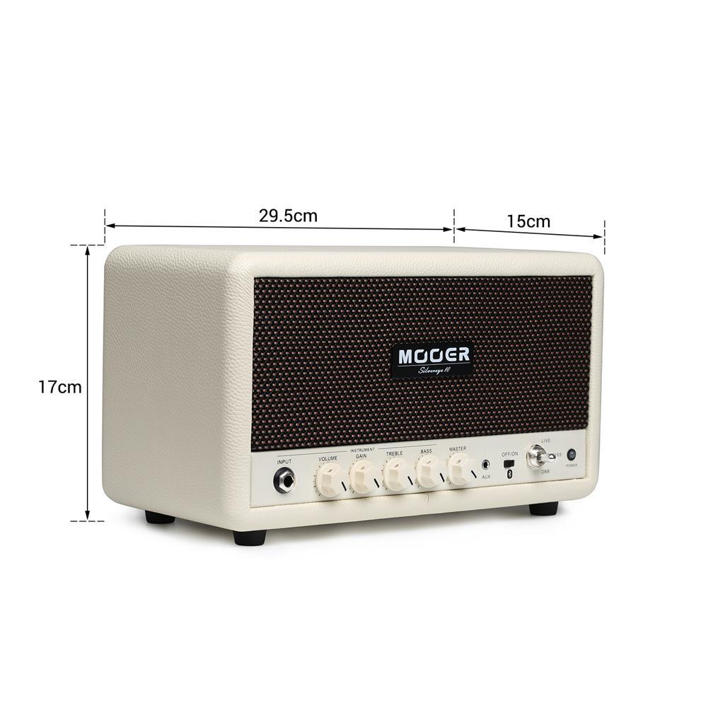 speakers-subwoofers MOOER SilverEye10 Desktop Stereo HiFi Bluetooth Player Guitar Bass Amplifier HOB1768155 3